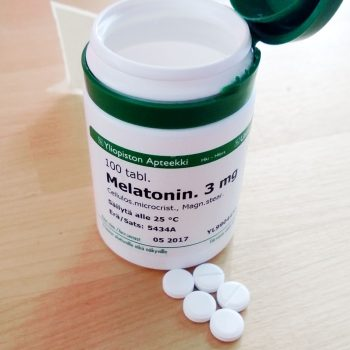 Melatonin and dental health