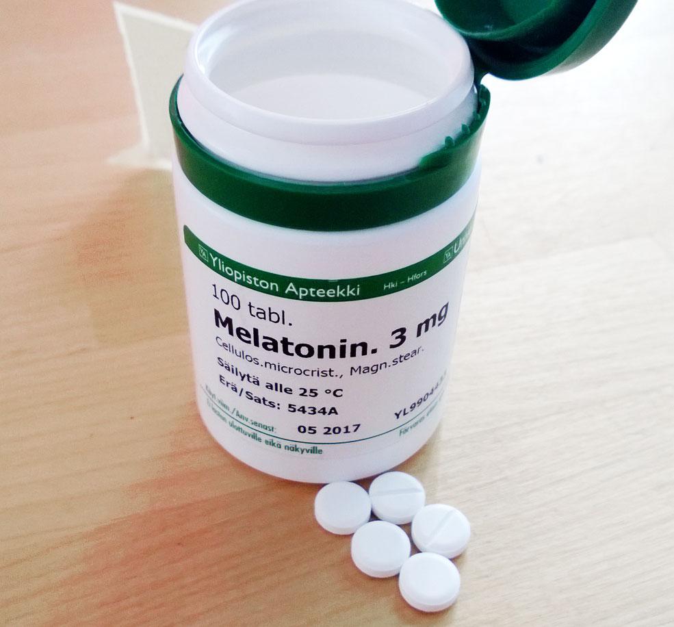 Melatonin and dental health